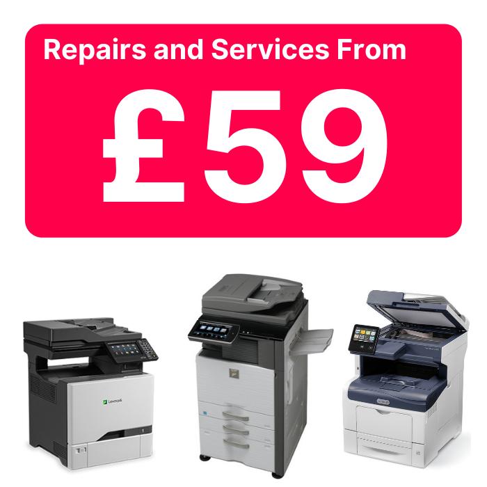 photocopier repairs Derby