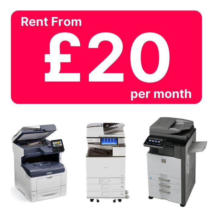 printer rental Derby